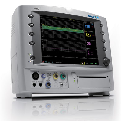 FM-10 Unique Patient Monitor and CTG in one Device